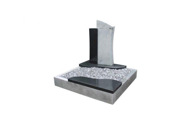 Urnengrabanlagen, Indien Black Granit und Sky Blue Granit